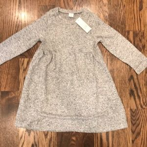 Toddler Girls Gray Dress NWT